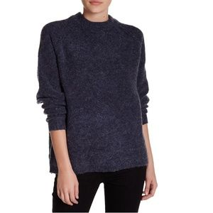 Willow and Clay Mock Neck Pullover Sweater